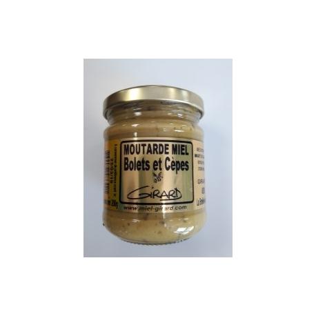 moutarde aux BOLETS et CEPES