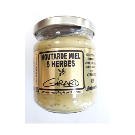 Moutarde aux 5 HERBES
