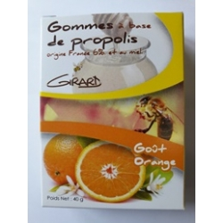 GOMMES à base de Propolis -parfum ORANGE