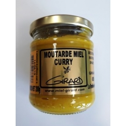 Moutardes miel CURRY