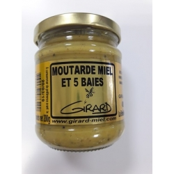 Moutarde miel 5 BAIES