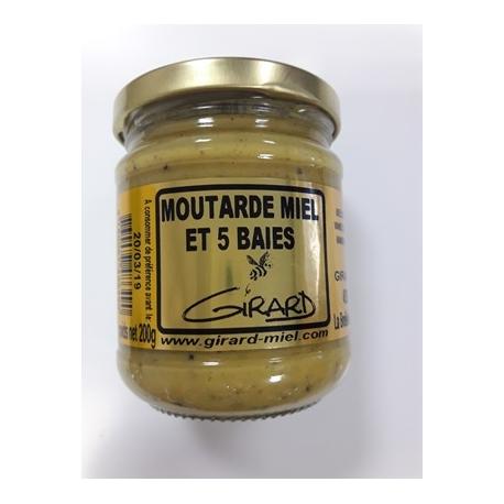 Moutarde miel 5 BAIES